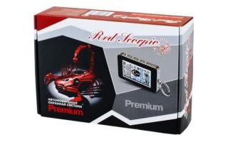 Red Scorpio Premium A8